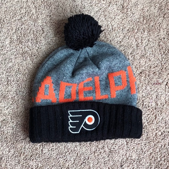 new style a4ad9 84288 free shipping philadelphia flyers knit hat 34942 8391b